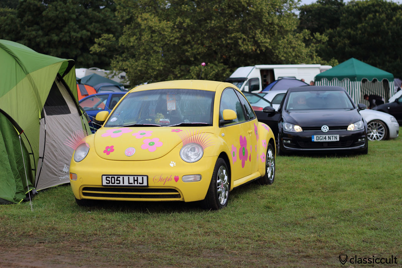 New Beetle with eyebrows