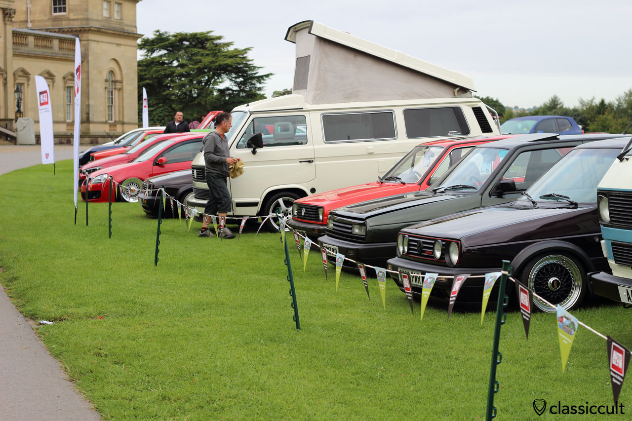 Harewood House Show and Shine area