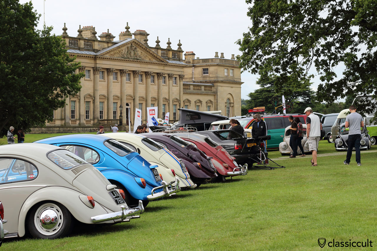 Beetles at VW Festival Harewood House 2015