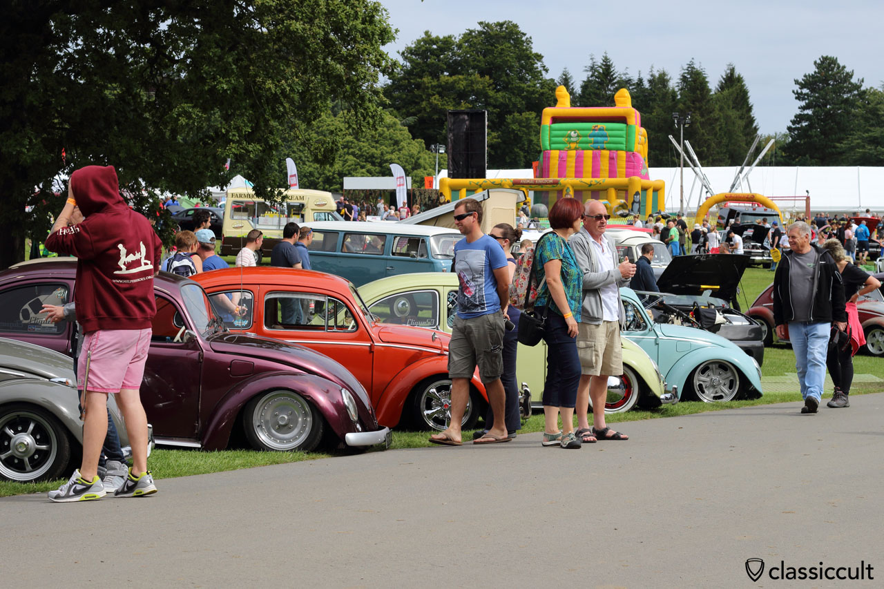 VW Festival, Harewood House, Leeds, UK, 2015