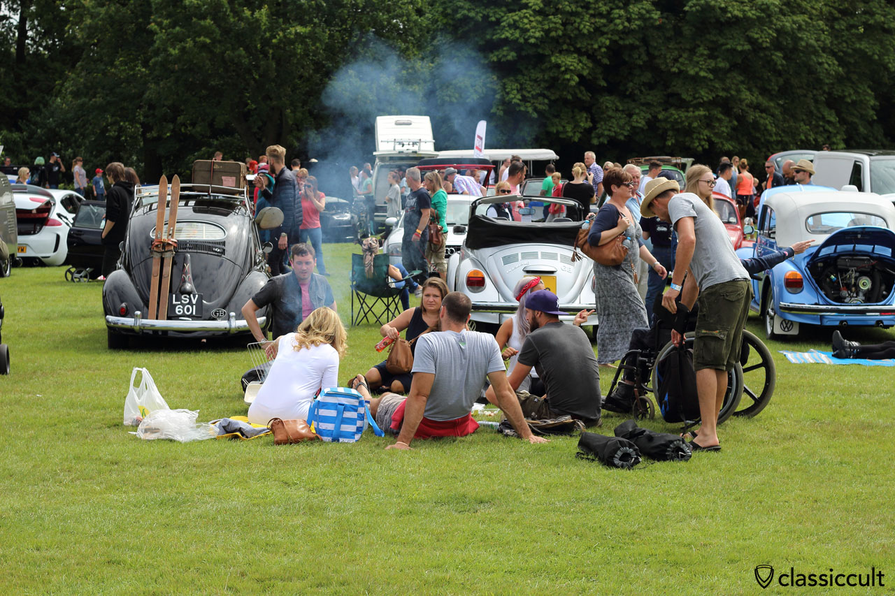 lunch time at VW Festival Leeds 2015, 12:58 p.m.