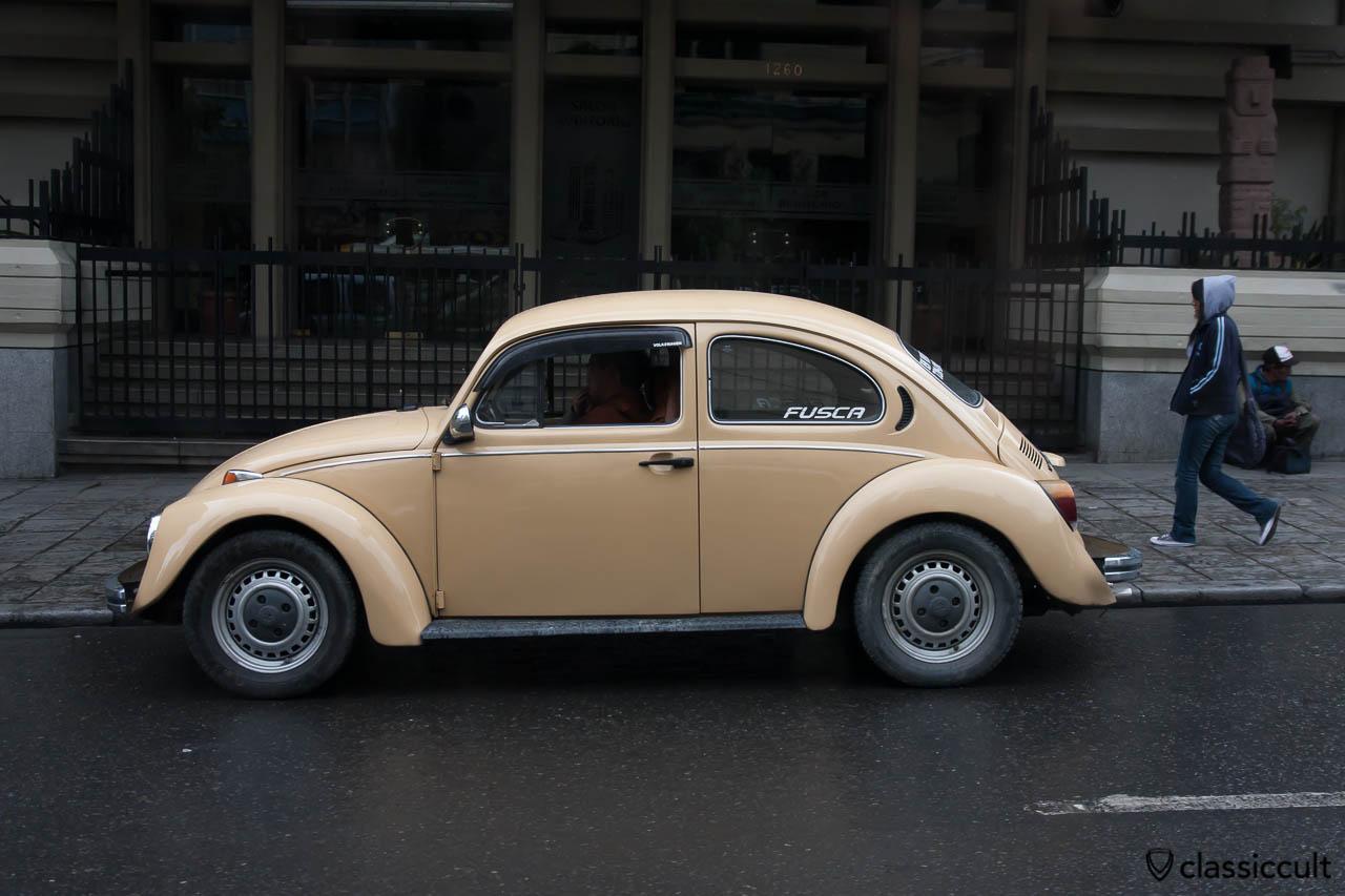 VW Fusca 1600 La Paz, Bolivia, May 18, 2013