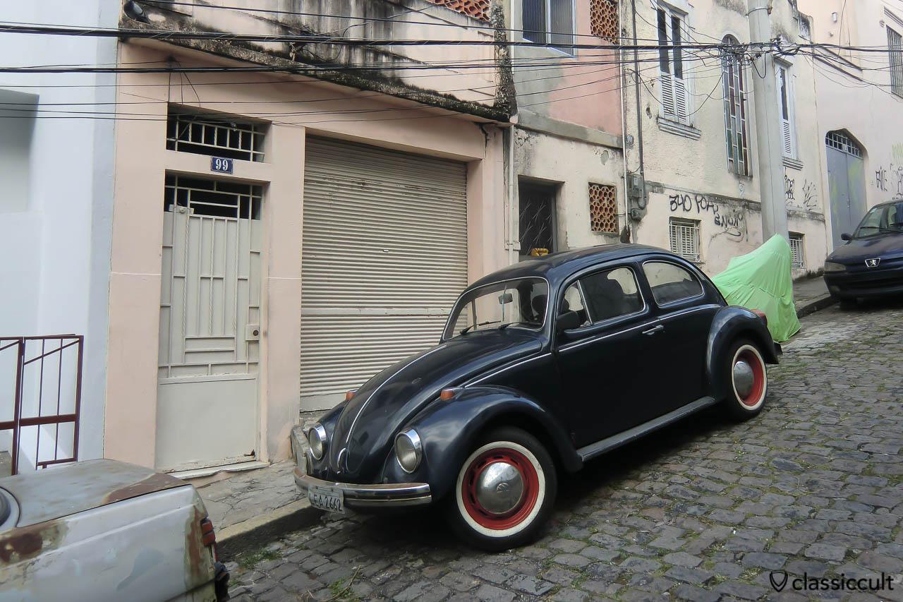 VW Fusca, Centro, Rio de Janeiro, Brazil, May 23, 2013