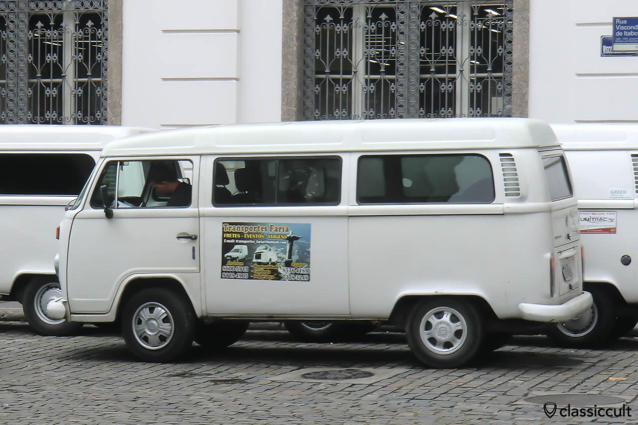 VW Kombi Bay Bus T2c, Centro, Rio de Janeiro, Brazil, May 23, 2013