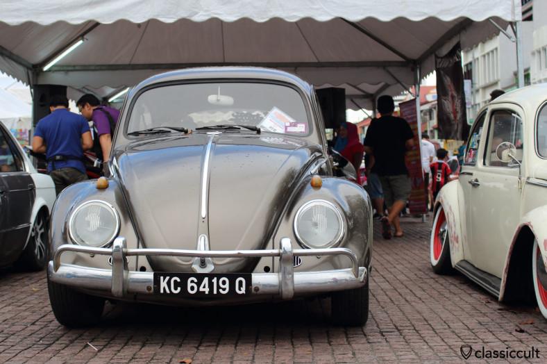 the low & lazy VW Beetle, Kuching, Sarawak, Borneo, Malaysia, May 3, 2014