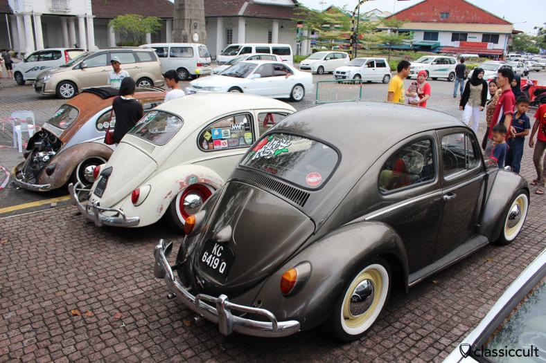 small VW Classic Show, Kuching, Sarawak, Borneo, Malaysia, May 3, 2014