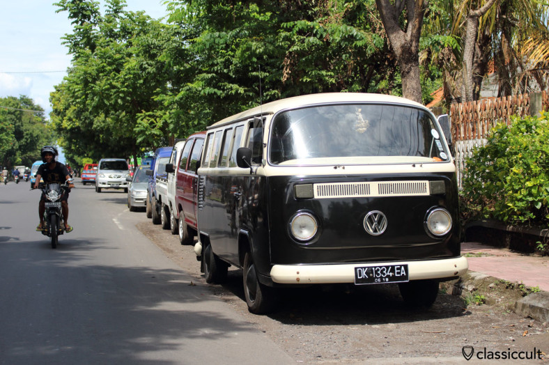 Brazilian Bay VW Kombi front, Lovina, Bali, Indonesia, February 22, 2014