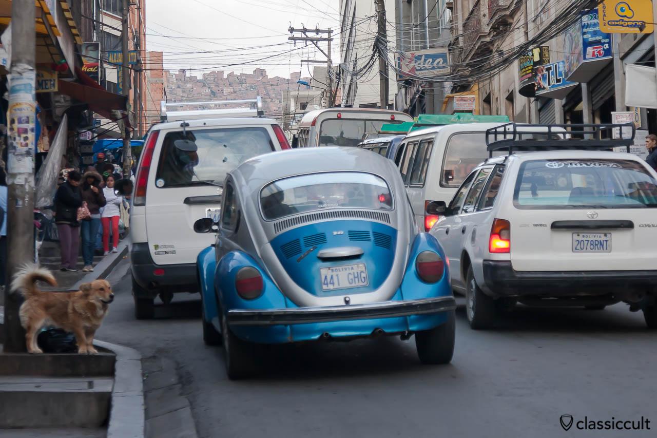 VW Peta 1600 La Paz, Bolivia, May 18, 2013