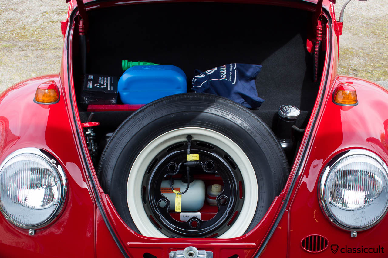 VW Standard Beetle trunk