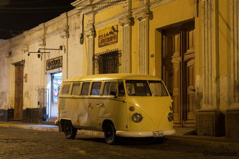 VW T1 Ambulance Split Bus frontside Arequipa, Peru, May 10, 2013