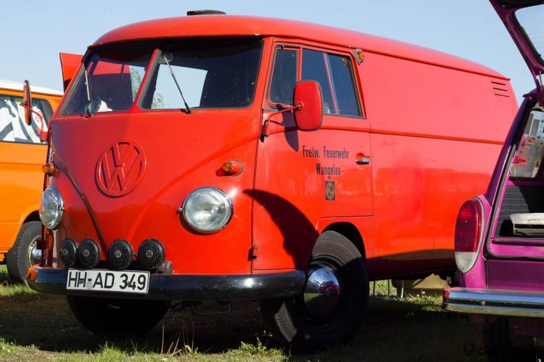 Fire Department Wangelau Germany VW T1 Split Bus