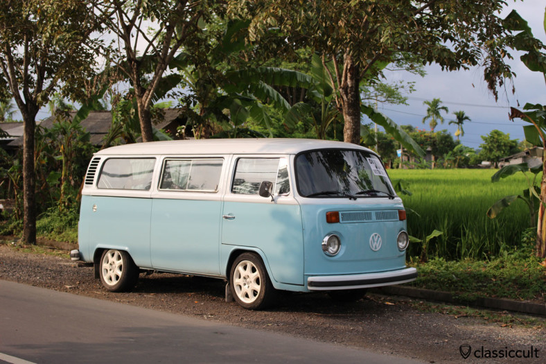 Volkswagen Kombi T2 near Echo Beach Bali, Indonesia, February 26, 2014