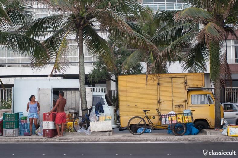 VW T2 Beach Bus Copacabana Rio de Janeiro Brazil
