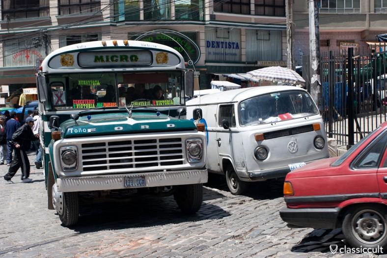 VW T2 Bus Breakdown La Paz Bolivia