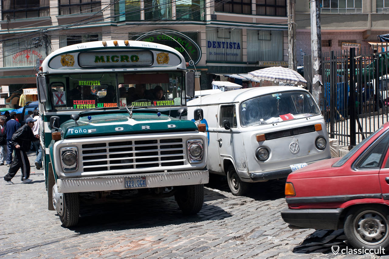 VW T2 Bus Breakdown La Paz Bolivia