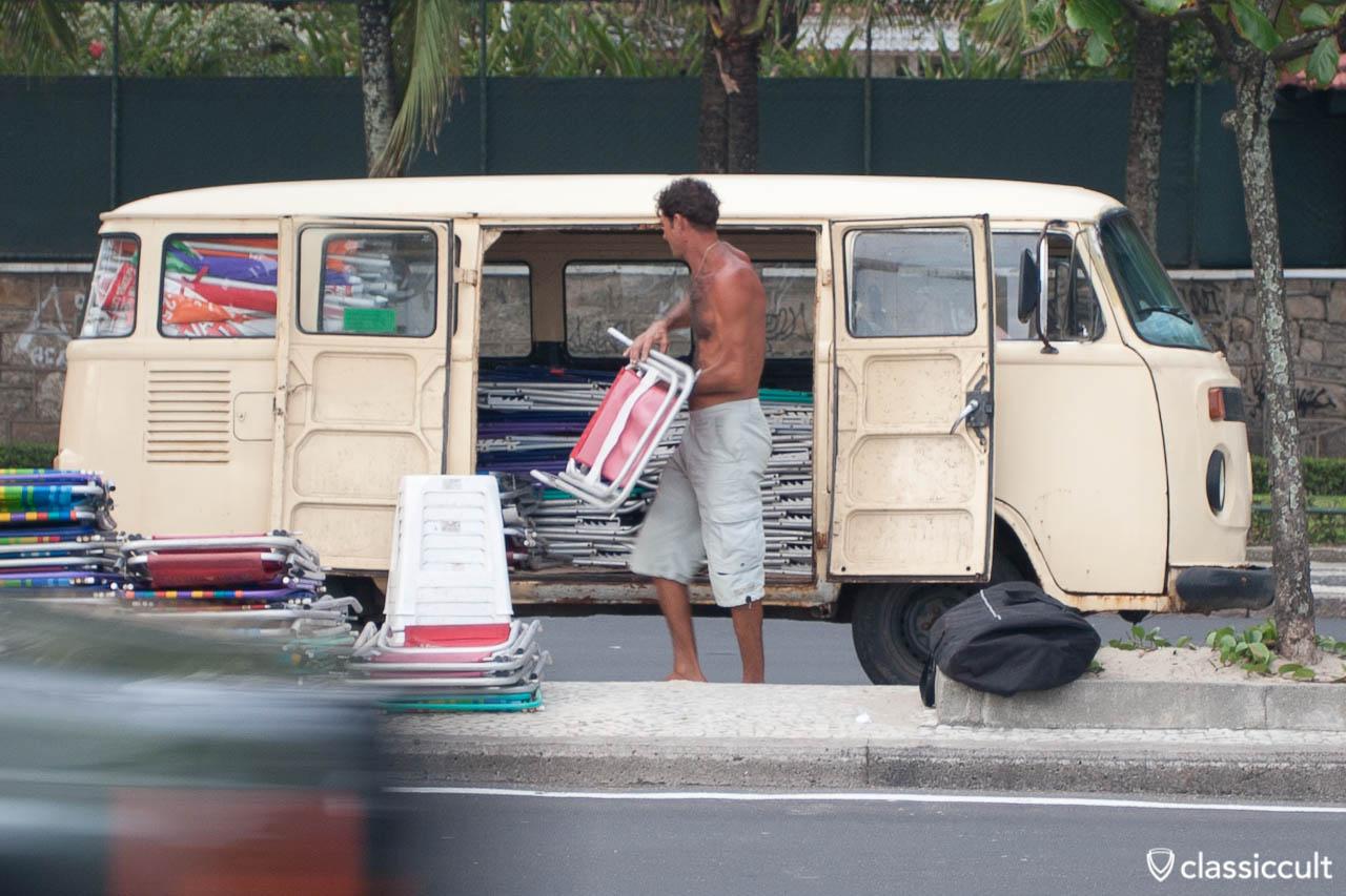 VW T2 Bus Copacabana Rio de Janeiro Brazil