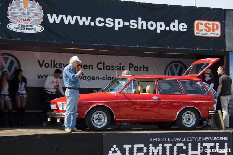 VW Typ 4 Variant MaiKäferTreffen 2012