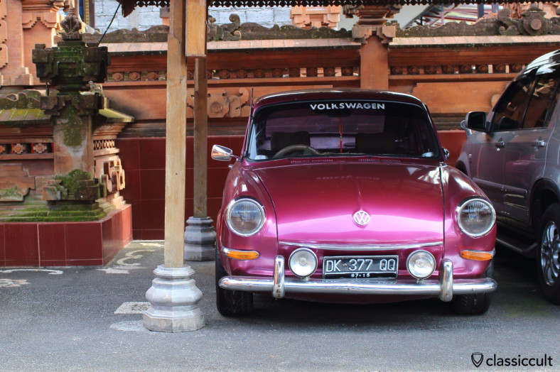 VW Type 3, Bali, Indonesia, February 28, 2014