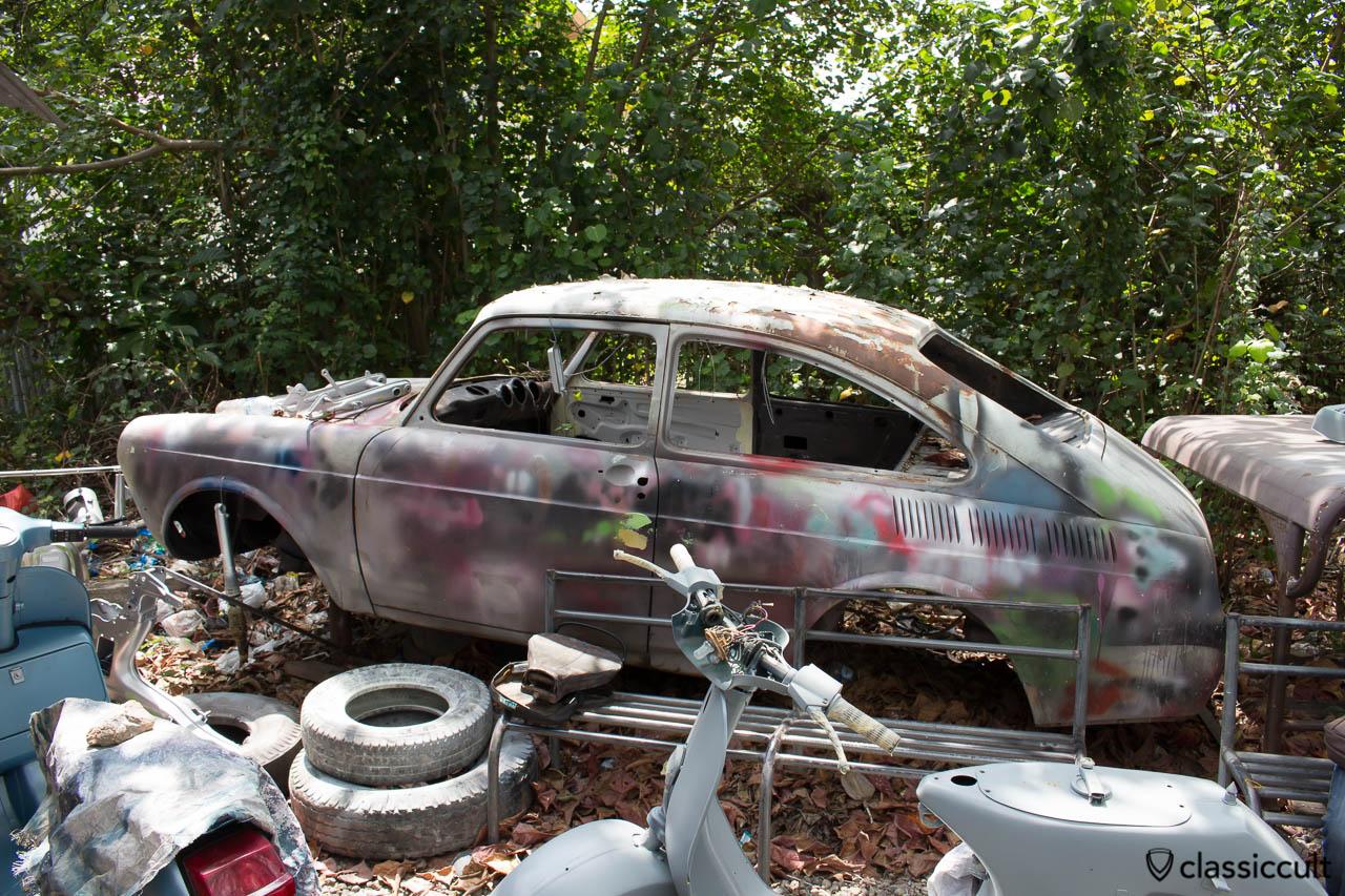 VW Type 3 Restoration Aceh Indonesia