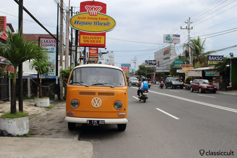 VW T2a front view, Jogja, Java, Indonesia, February 9, 2014