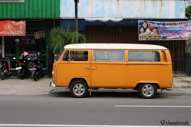 VW T2a side view, Jogja, Java, Indonesia, February 9, 2014