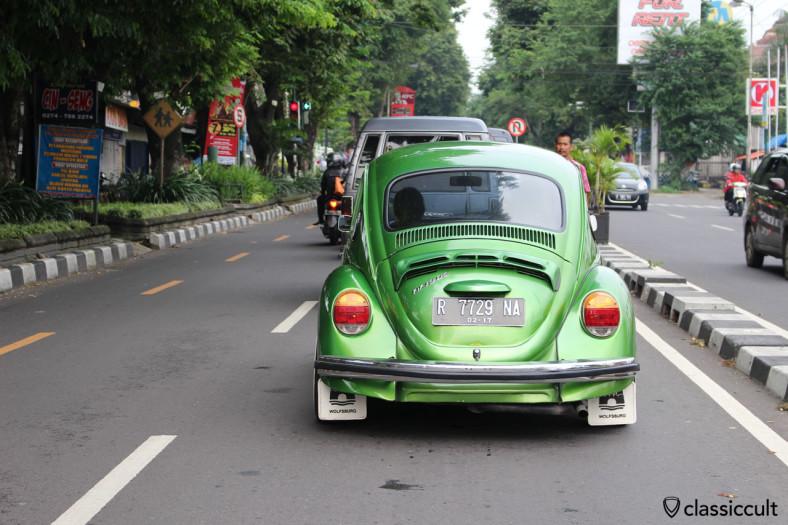 VW 1303 Beetle, Yogyakarta, Java, Indonesia, February 9, 2014