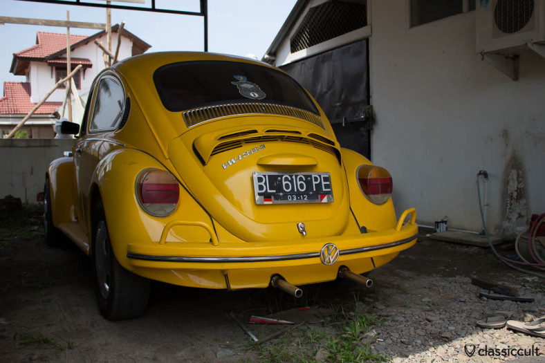 yellow VW 1303