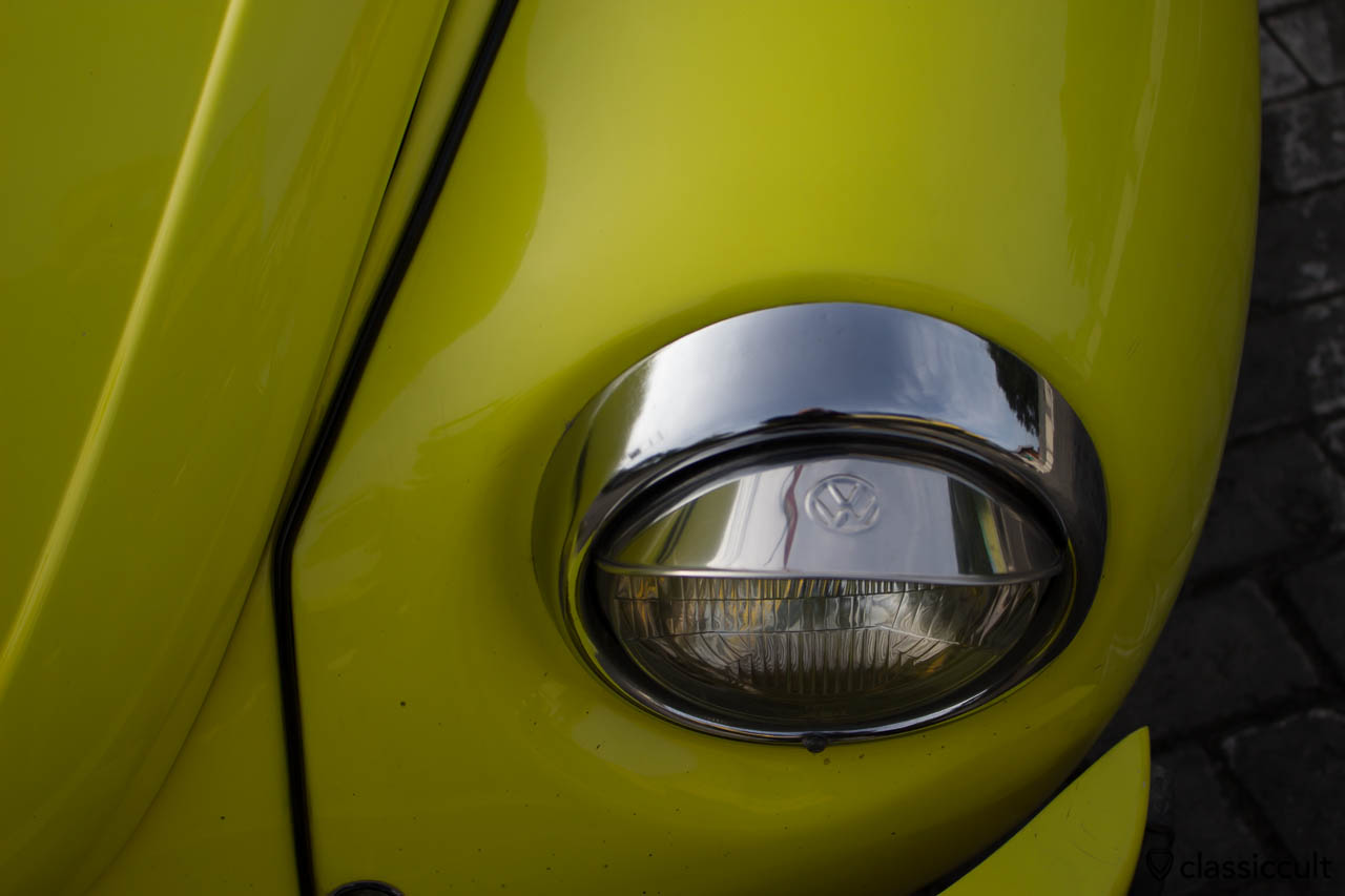 yellow VW Beetle 1303 Banda Aceh Indonesia