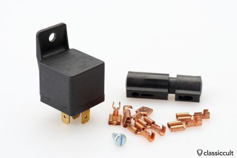 Bosch fog light relay 12V Germany NOS
