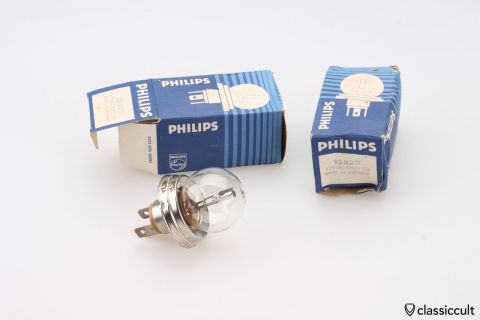 Philips 12V Bilux 45/40W P45t bulb 12620