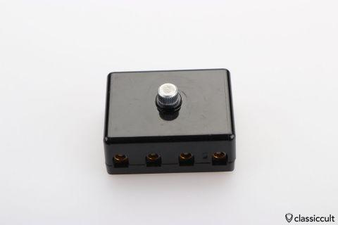 4 pole fuse box with screw terminal