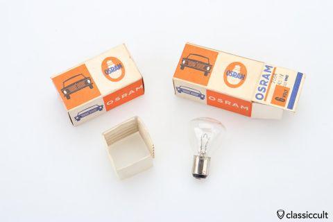 6V 45W BA15s bulb Osram 7564 NOS