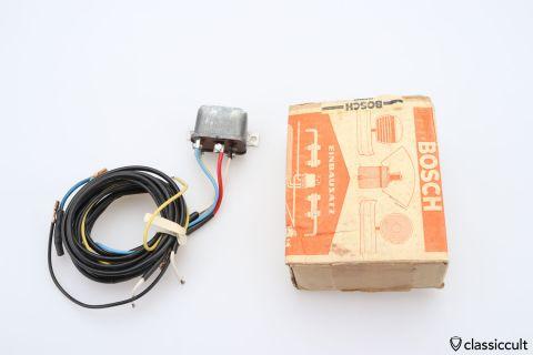 Bosch SH SE 20 A1 6V foglight relay NOS