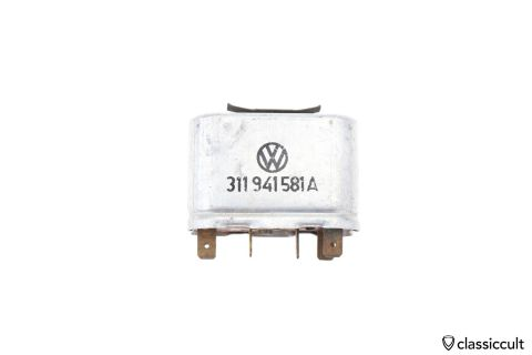 6V VW SWF relay # 311941581A for VW Beetle
