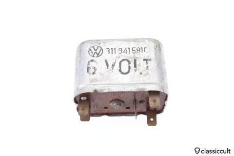 6V VW SWF relay # 311941581C for VW Beetle