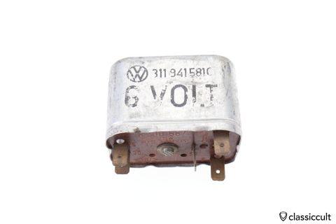 6V VW SWF relay # 311941581C for VW Beetle