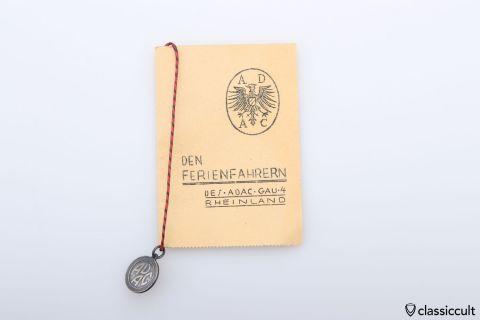 ADAC Christophorus key talisman NOS