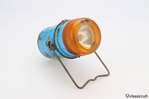 Combi-Light Feuer Hand Lamp with PATINA