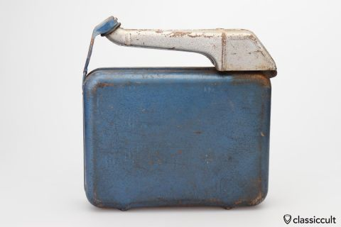 ALLBOY 5L reserve jerry gas can 1969