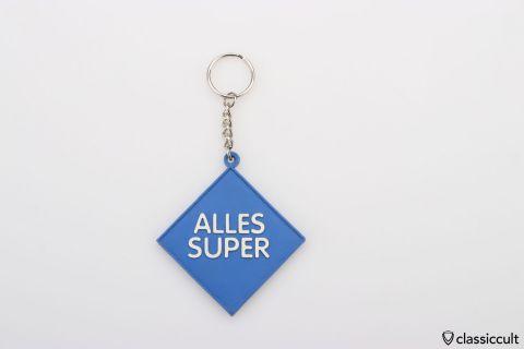 Aral ALLES SUPER key fob