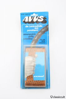 brown AVUS steering wheel cover NOS