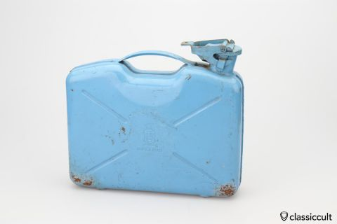 BELLINO 5L jerry reserve gas can 60ies