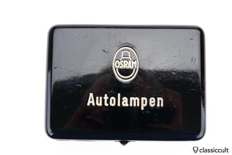 black Osram Autolampen spare bulb kit