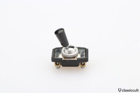 black Toggle Switch NOS