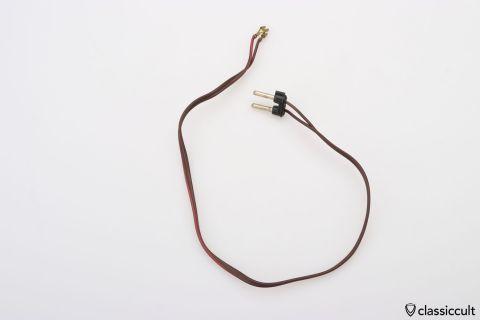 Vintage Blaupunkt speaker cable 53cm