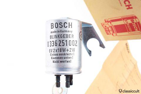 Bosch Blinkgeber 6V Opel Kapitän 64-65 NOS