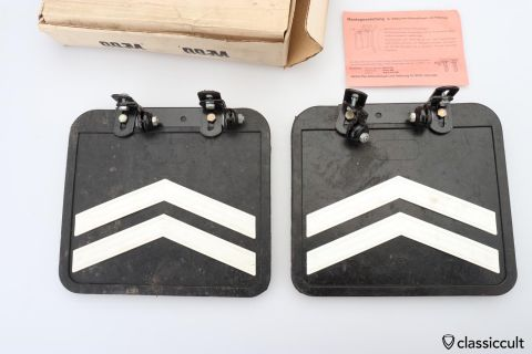 BMW 2500 2800 E3 Wegu mud flap set NOS