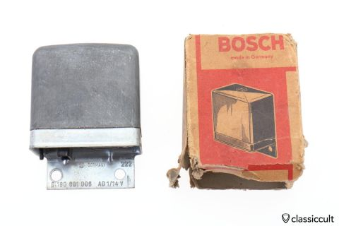 Bosch # 0190601006 AD1/14V Voltage Regulator NOS