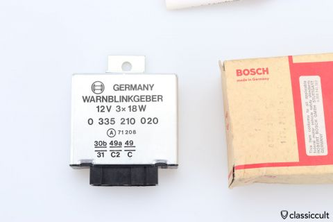 Bosch # 0335210020 warning flasher NOS