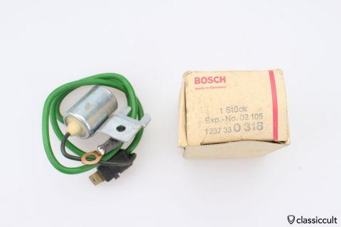 Bosch 1237330318 Mercedes Condenser NOS